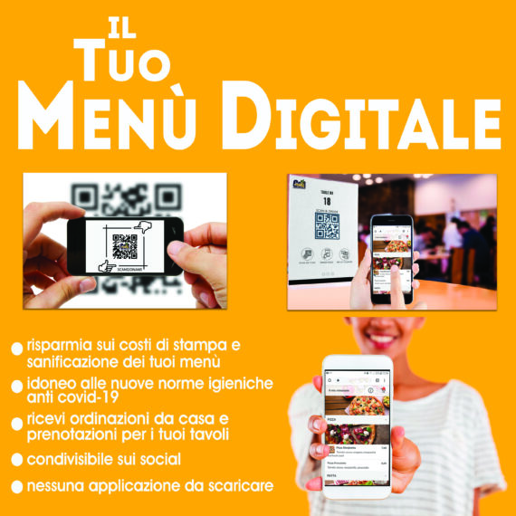 menù digitale